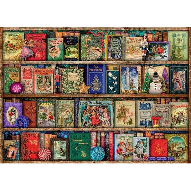 Ravensburger,  The Christmas Library, 1000 brikker puslespill