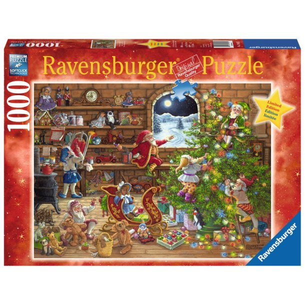 Ravensburger, Countdown to Christmas, 1000 brikker puslespill
