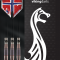 Viking Darts HH. 90% Tungsten, 24 gram.