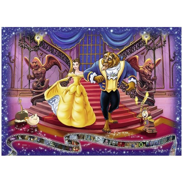 Wonderful Ravensburger - Disney: Beauty and the Beast, 1000 Brikker Puslespill BL-67