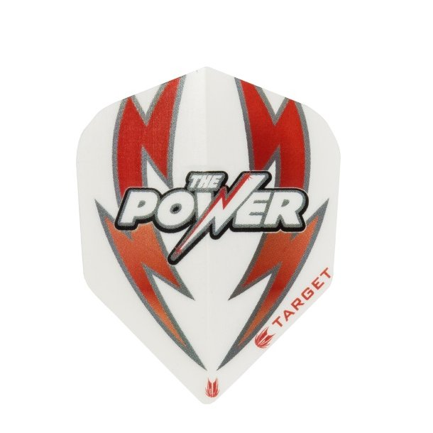 Phil Taylor Power Flights White/Red
